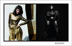 Balmain Fall Winter 2013 Campaign by Inez and Vinoodh