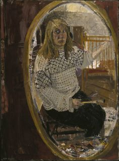 JEAN COOKE (JEAN BRATBY) Self-Portrait (1958)