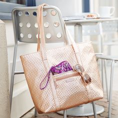 042c81c85 Let your everyday bag make a statement! Our favorite Iconic Vera Tote is  still available. Vera Bradley