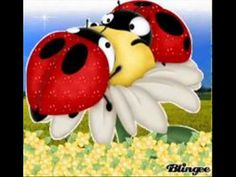 Ladybug Cartoon Insect Images Free To Copy For Your Own Personal Use Ladybug Images Cartoon, Cute Cartoon, Decoupage, Spiders And Snakes, Baby Ladybug, Good Morning Gif, Clip Art, Tole Painting, Dibujo
