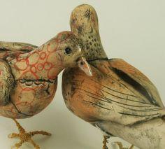 Hannah Niswonger ceramic birds