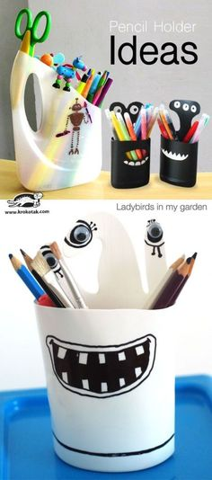 Pencil Holder ideas | krokotak | Bloglovin'