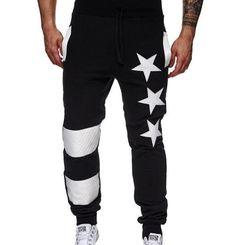 Fashion Casual Men's Joggers Slim Fit Men's Pants