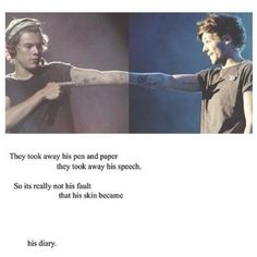 I don't are whether you ship Larry or not cause I don't. But this is freaking sad. Admit it. It's- but I still believe that Elounor is real. And I won't believe otherwise till I have proof.