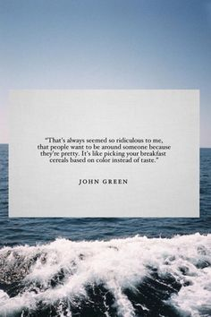 """prevalere: """" this is why I love John Green """""""