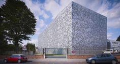 Magasins Des Archives Departamentales Du Nord / zigzag architecture + J de Alzua