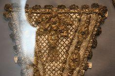 copper-Antique metallic laces