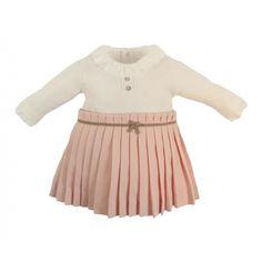 Body dress met roze rokje Laranjinha - Belito Baby Boutique