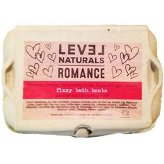 Level Naturals Awesome Romance Bath Bombs