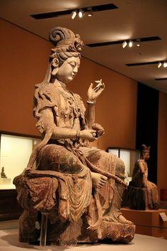 Buddha Buddhism, Buddha Art, Asian Sculptures, Guanyin, Sacred Art, Religious Art, Chinese Art, Deities, Asian Art