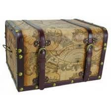 Decorative Storage Trunk Set.