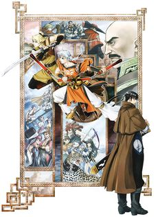 View an image titled 'Characters Illustration' in our Suikoden V art gallery featuring official character designs, concept art, and promo pictures. Suikoden, Japanese Illustration, Character Illustration, Game Art, Videogames, Fantasy Art, Concept Art, Art Gallery, Character Design