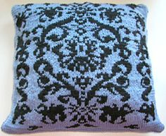 Ravelry: Jacquard Cushion pattern by Erika Knight