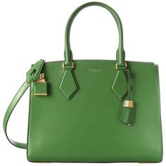 Michael Kors Casey Large Satchel ($1,195) ❤ liked on Polyvore