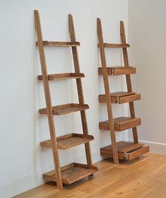 Image result for ladder shelves