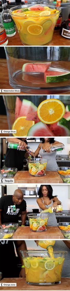 Cadillac Margarita Bowl | DIY Cinco de Mayo Party Ideas Adults | Easy Fiesta Party Ideas for Adults Mexican