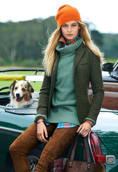 Classically modern: An image from the fall 2015 Polo campaign. Click through the slideshow for a look at back at a few iconic moments in RL tweed.