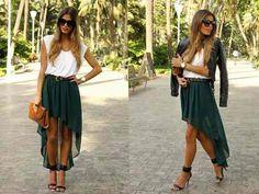 faldas asimetricas moda 2013