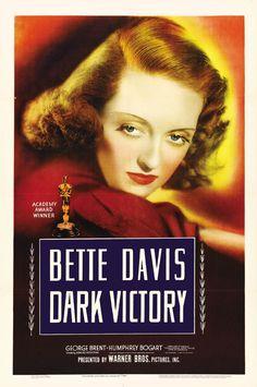 Bette Davies, Humphrey Bogart in Dark Victory 1939