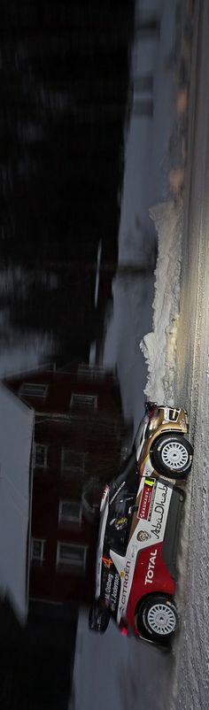 Night race: http://win.gs/MFWPLd Image: © McKlein Image Database #MadsOstberg #WRC #rallysweden #motorsport