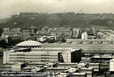 Rome - Italie - Village Olympique - Villaggio Olimpico  Architectes: Vittorio Cafiero, Adalberto Libera, Amedeo Luccichenti, Vincenzo Monaco...