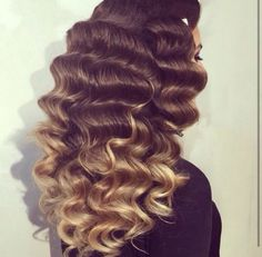 Old Hollywood Waves ❤️