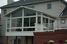 above ground sunroom iron balcony pinterest sunroom