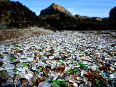 See this iconic glass beach before it's too late
