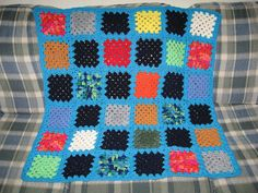 With a great teacher, learning how to crochet can be easy. Or at least, it's simplified a lot. Learn to crochet a basic granny square.