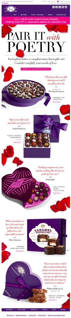 Valentine's Day email 2015