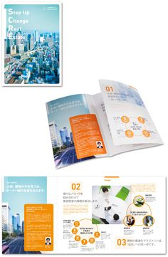 株式会社スクレバンク様・会社案内 Pamphlet Design, Booklet Design, Corporate Profile, Corporate Brochure, Brochure Folds, Brochure Design, Layout Design, Print Design, Web Design
