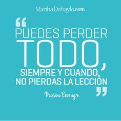 Frase Mario Barragan