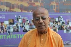 """HH Gopal Krishna Goswami Maharaja speaking about the """"Hare Krishna"""" movie on the famous Russian radio station """"Moscow FM"""" (audio interview in English translated into Russian…"""