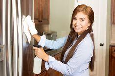 Fridge full of fingerprints? How to clean stainless-steel appliances