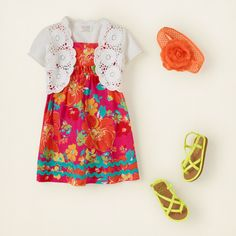 baby girl - outfits - crochet cutie | Children's Clothing | Kids Clothes | The Children's Place