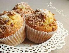 """Apple Muffins by - """"These are lovely and light. I diced 2 apples, and used cinnamon in the mixture too. I'll be making these again. Cinnamon Muffins, Savory Muffins, Apple Muffins, Baking Muffins, Healthy Muffins, Muffin Recipes, Baking Recipes, Dessert Recipes, Desserts"""