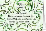 Old Ireland Poem St. Patrick's Day Card