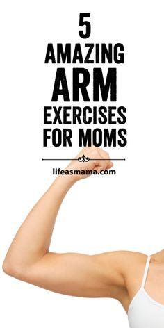 5 Amazing Arm Exercises For Mom