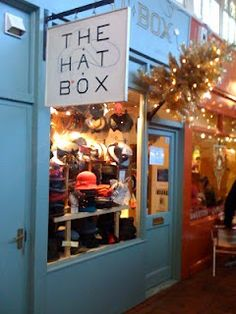 The Hat Box, i want to go there