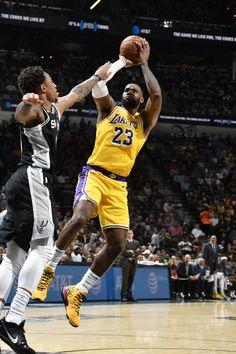 View photos for Photos: Lakers vs Spurs King Lebron James, Lebron James Lakers, King James, Sports Basketball, Basketball Players, Lakers Vs Spurs, Thunder Nba, Nba Season, Slippers