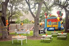 Truck Themed Birthday Party-Super Cute!