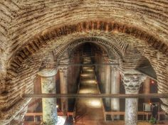 cisterna basilica, istanbul
