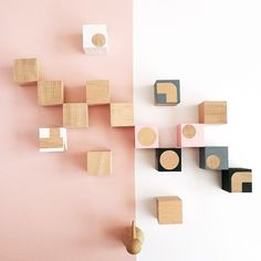 STYLING - WOODEN BLOCKS