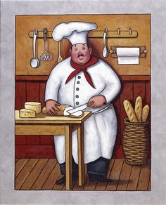 Masters Collection: Chefs art for sale.