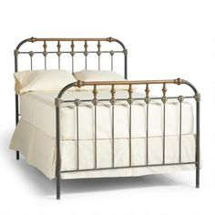 Boho Iron Bed traditional beds by Sundance Catalog