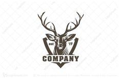 Logo for sale: Deer Logo