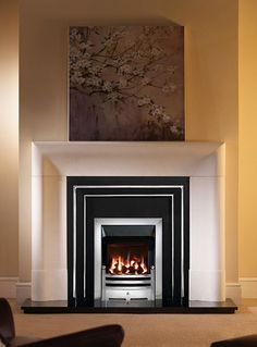 Fresh Modern Concrete Fireplace