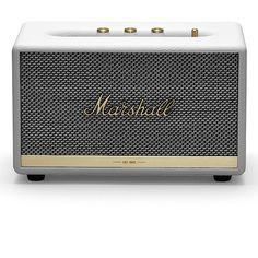Bluetooth-høyttaler Marshall Acton II BT   Clas Ohlson Marshall Acton, Marshalls, Marshall Speaker, Bluetooth, Electronics, Living Room, Sitting Rooms, Drawing Room, Lounge