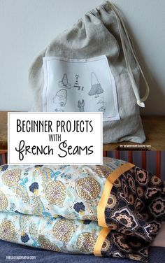 Learn to sew french seams with these easy tutorials!