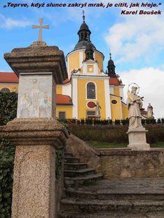 Chlum u Třeboně – Kostel Nanebevzetí Panny Marie (CZ) Czech Republic, Prague, Taj Mahal, Spaces, Mansions, House Styles, Building, Travel, Bohemia